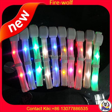 Manufacture Wholesale NFC/RFID Radio Controll LED RGB Wristband Light UP Bracelets Wireless Glow Wristband For Concert Event
