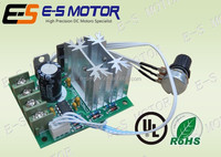 speed controller for DC motors