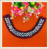 Fashion Garment accessories beaded neckline/front neck designs for kurtis factory price