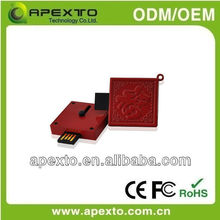 OEM metal slide USB with different colour available