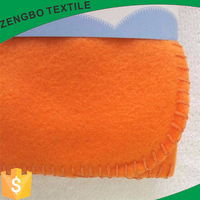wholesale solid color cheap airline polar fleece blanket