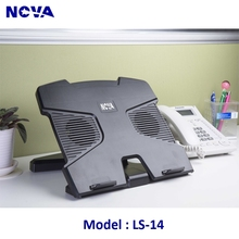 Plastic Laptop stand with cooling fan , Cheap laptop stand with USB