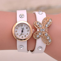 2 circles clock hands watch various types colorful dress watch cheap fancy watch for women