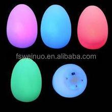 egg shaped led mood light for decor /Magic Colorful Changing Egg LED Light/Popular illuminated led light for decoration