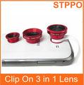 stppo grampo em grande angular macro lente olho de peixe para a câmera do telefone móvel