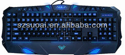 Expert Gaming keyboard with backlight