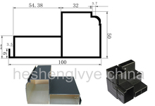 led display screen special shell 10050 with led metal shell