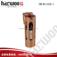 Handing one bottle wooden wine gift box for sale
