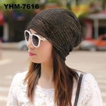 Wholesale lady fashional unisex summer lace beanie hat