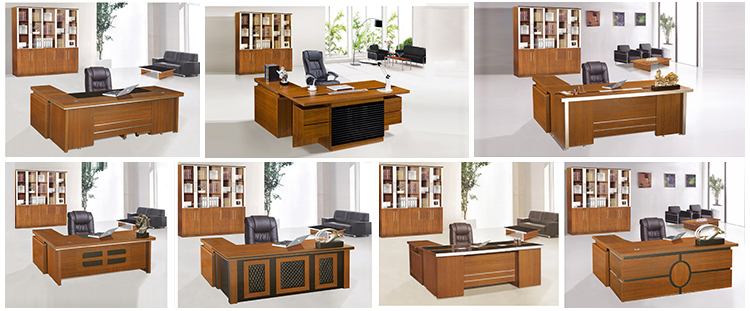2015 Modern office furniture melamine executive desk office table design. ]`