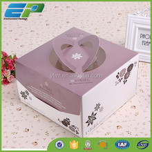 Different Colors Customized Window Pie Box with A Window