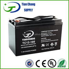 12V 100Ah Lead Acid SLA VRLA MF Gel Solar PV UPS Battery
