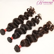 Homeage hot sale brazilian human wet and wavy human hair