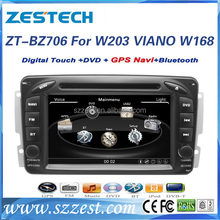 for mercedes benz w203 car dvd support gps/radio/dvd player/video/TV/3G ZT-BZ706