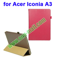 High Quality PU Leather Smart Cover for Acer Iconia A3 with 3 Gears