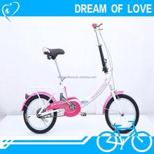 steel Tianjin factory-based mini 16 inch cheap price light weight pocket bike