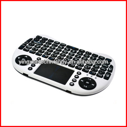 2.4G Wireless Keyboard Touchpad Mouse Combo for Pad google TV Box