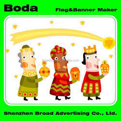 The best flag and banner printing intact polyester used car flag