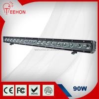Hight Bright Off Road LED Light Bar 30 inches 90W, truck SUV Jeep heavy duty auto
