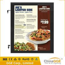 Trustworthy edgelit aluminum frame waterproof LED light poster