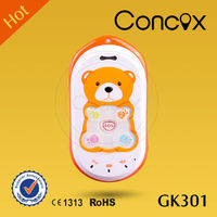 Concox Big Key GPS Baby Bear Phone GK301 with Anti-assembly Design Low price China mobile phone