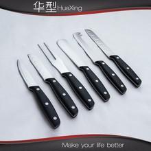 Bakelite handle cheese knife set