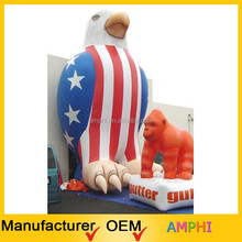 Hot Sale Popular Giant inflatable model,inflatable outdoor cartoon,inflatable eagle