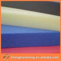 wholesale china trade high density pu foam sheet polyurethane foam air duct sheet