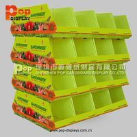 pos candy pallet display stand for card reader display racks