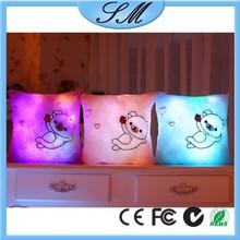 LED light pillow/led light up pillow/colorful shining led light pillow