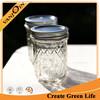 Hot Sale Half Pint Glass Ball Jars With 2 Piece Lids