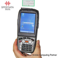 Industry pda mobile handheld barcode scanner with RFID 3G Smart Phone