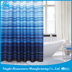 Hot China Products Wholesale nature shower curtains