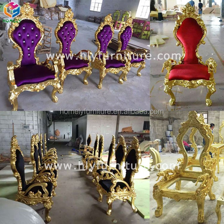 cheap wedding crown royal chair HLY-K24