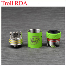 New products for 2015 the troll rda atomizer authentic troll rda in stock DHL to USA