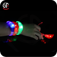 Hot Sell Popular Customize Silicone Rubber Led Bracelet