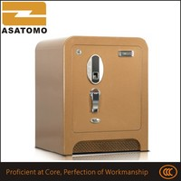 Fashionable digits combination code metal cheapest safety deposit box steel security box digital lock safe