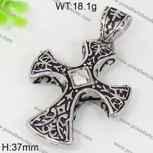 2015 Cool Hot Sale pendant jewelry two cross gun pendant