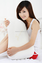 Contour wholesale latex pillow with dual support 60*40*10/12cm