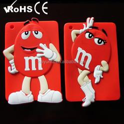 2015 promotion customize china brand Silicone mobile phone case for ipad mini