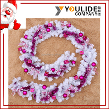 China new style wholesale christmas wreath decorations red rattan wreaths cheap sale cane with christmas balls