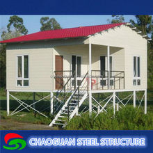 High quality for outdoor elegant design modular prefab prebuilt container house for sale