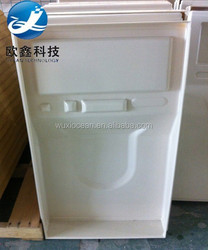 Professional customized vacuum formed hard plastic equipment cover