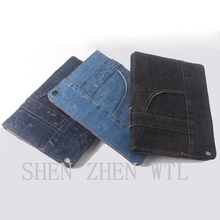 New product! Jean style anti-shock case for ipad 2