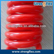 Red PU Coil Tube, Polyurethane Spiral Hose/PU tube