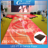 2015 china ful color led light interactive dance floor