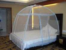 Folding portable mosquito nets for bed easy put up easy take down