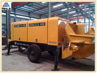 concrete pump 60m3/h electric heavy equipment factory price with 150m delivery pipe
