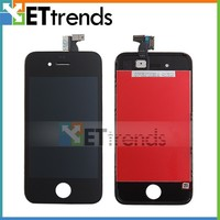 For Black iPhone4 LCD Touch Digitizer Screen