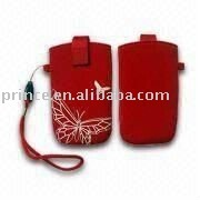neoprene mobile phone pouches with straps